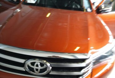Toyota Hilux 2016 установка Prizrak 540