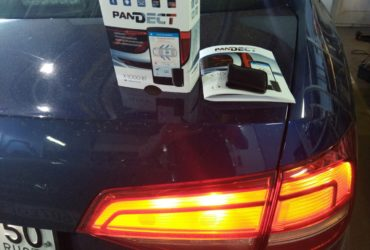 Volkswagen Jetta 2015 микросигнализация Pandect X-1000Bt