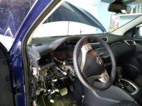 Nissan Quasqai 2017 установка Pandora DX 50