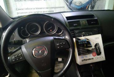 Mazda 6 2008 автозапуск без чипа и ключа…