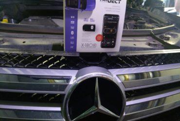 Mercedes GL X164 наконец-то автозапуск!!!